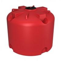 Емкость КАС 4500 TR с откидной крышкой красный