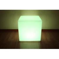 Белый световой куб с беспроводной RGB подсветкой