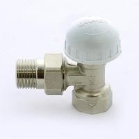 """Вентиль НВ термостатический для радиаторов с разъемным соединением EMMETI 1/2"""" угловой"""
