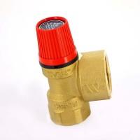 """Клапан предохранительный ВВ SVH для систем отопления WATTS Ind 3/4""""х1"""" 1,5 бар"""