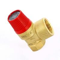 """Клапан предохранительный ВВ SVH для систем отопления WATTS Ind 1/2""""х3/4"""" 2,5 бар"""