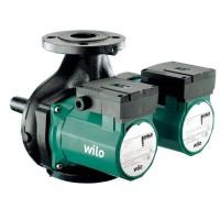 Циркуляционный насос Wilo TOP-SD 40/7 DM PN6/10 сдвоенный фланцевый 40 мм, 3-х ступенчатый переключатель, мокрый ротор