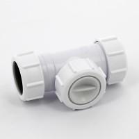 Клапан обратный McAlpine D=32х32 мм (компрессионное соединение)
