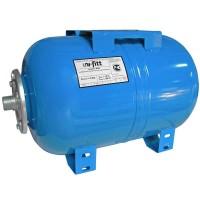 """Гидроаккумулятор WAO для водоснабжения горизонтальный UNI-FITT присоединение 1"""" 100л"""