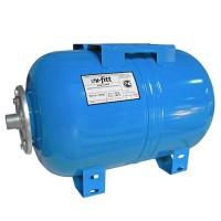 """Гидроаккумулятор WAO для водоснабжения горизонтальный UNI-FITT присоединение 1"""" 50л"""