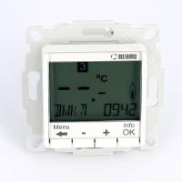 Термостат Optima с цифровым дисплеем многофункциональный программируемый с датчиком температуры REHAU 10 А