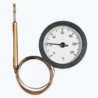 Термометр TC WATTS Ind 50/100 дистанционный, 120град, капилляр 1м