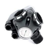 "Реле давления UNI-FITT PM 5-3W НВВ 1"", с манометром, 1-5 бар"