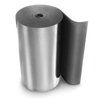 Рулон теплоизоляционный Energoflex Super AL с покрытием алюминиевой фольгой ROLS ISOMARKET 10мм х 1м х 10м