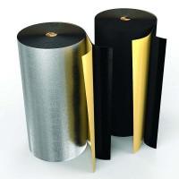 Рулон теплоизоляционный Black Star Duct AL с покрытием алюминиевой фольгой ROLS ISOMARKET 10мм х 1м х 10м