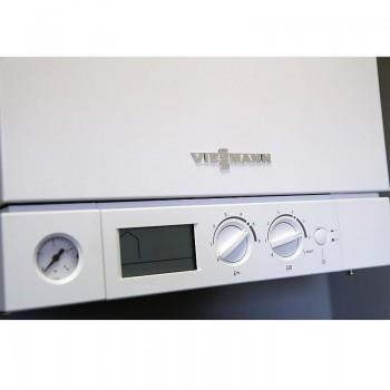Котел газовый настенный Viessmann Vitopend 100-W двухконтурный с закрытой камерой сгорания 24 кВт A1JB010