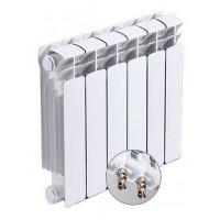 Радиатор биметаллический Rifar Base 200/100 5 секций нижнее правое подключение