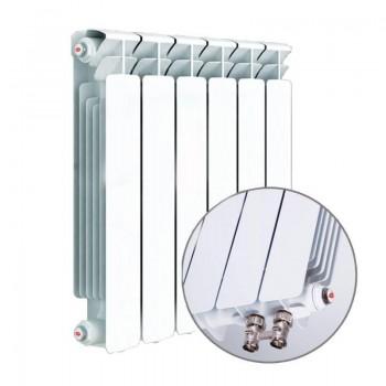 Радиатор биметаллический Rifar Monolit 500/100 10 секций нижнее правое подключение