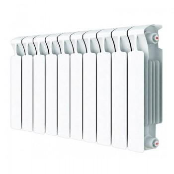 Радиатор биметаллический Rifar Monolit 500/100 14 секций нижнее правое подключение (зам. арт RM50014НП50)