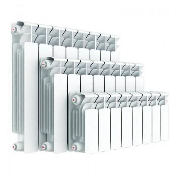 Радиатор биметаллический Rifar Monolit 350/100 10 секций нижнее правое подключение (арт. RM35010НП)