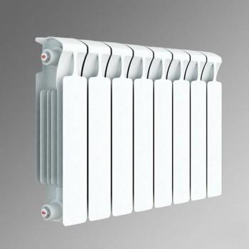 Радиатор биметаллический Rifar Monolit 500/100 4 секции нижнее правое подключение (арт. RM50004НП)