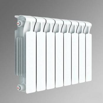 Радиатор биметаллический Rifar Monolit 500/100 9 секций нижнее правое подключение (арт. RM50009НП)