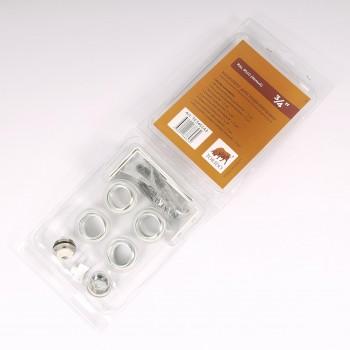 """Комплект для подключения радиатора с угловыми кронштейнами (3 шт) с силиконовой прокладкой TORIDO 1""""х3/4"""" RAL9010"""
