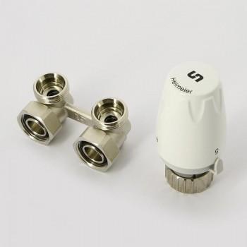 Комплект для подключения радиатора UNI-FITT угловой (Buderus, Vogel&Noot)