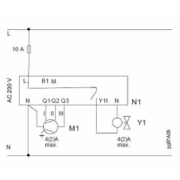 Комнатный термостат Wilma для RDF310.2/ММ полускрытого монтажа