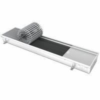 Конвектор напольный Wilma KB 80-1000 с тангенциальным вентилятором нержавеющая сталь