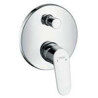 Смеситель для ванны HansGrohe HG Focus однорычажный СМ хром