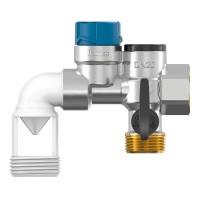 Группа безопасности водонагревателя Flexbrane Flamco CE-H3/4горизонтальная