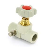 Вентиль сварка со сливным клапаном полипропиленовый FV-PLAST 20