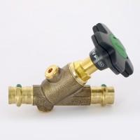Вентиль Easytop пресс c SC-Contur VIEGA CRV ДУ 15 с обратным клапаном бронза, м.2238,5