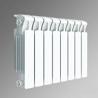 Радиатор биметаллический Rifar Base 350/90 8 секций нижнее правое подключение