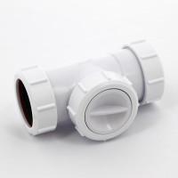 Клапан обратный McAlpine D=40х40 мм (компрессионное соединение)